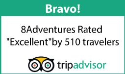 Trip advisor 8 Adventures