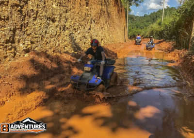8Adventures ATV Chiang Mai Tour Mud