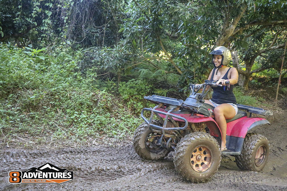 ATV Chiang Mai Tour 8Adventures Girl