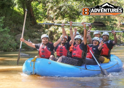 8Adventures Team Building Thailand White Water Rafting 5km