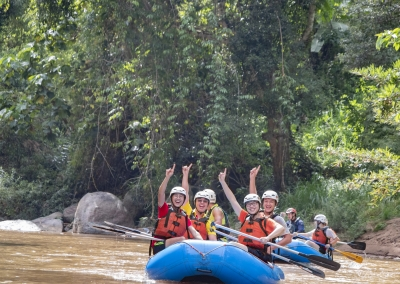 8Adventures Multi Day School Trip Whitewater Rafting 8km Fun Chiang Mai